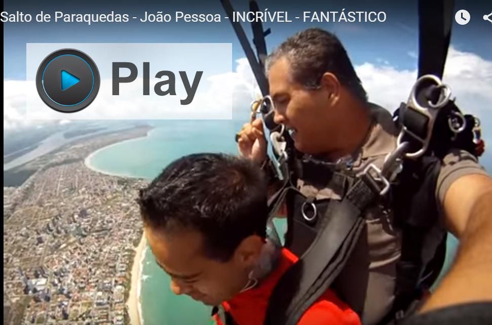 Salto de paraquedas - Isso mesmo - É incrível !!!